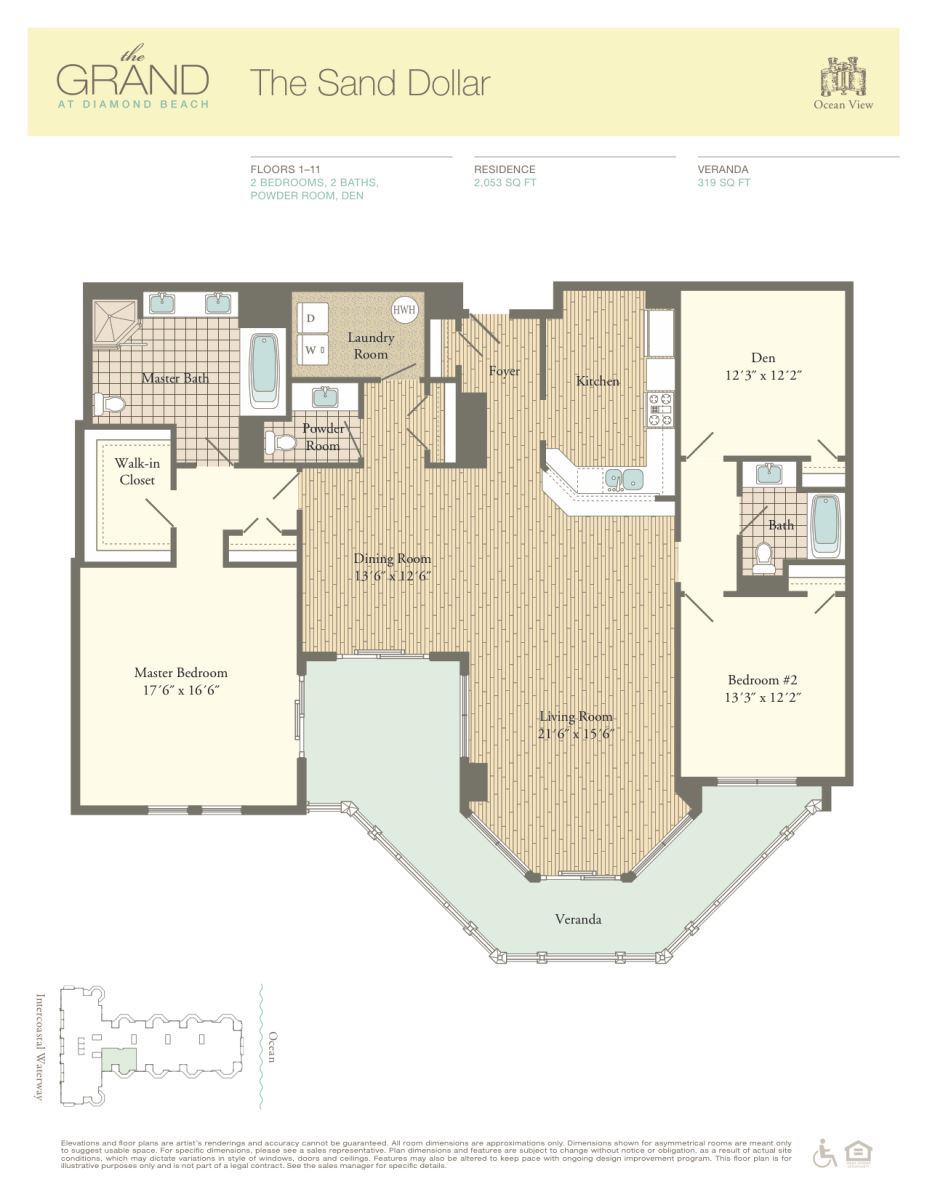 Floor Plan for Residence 808