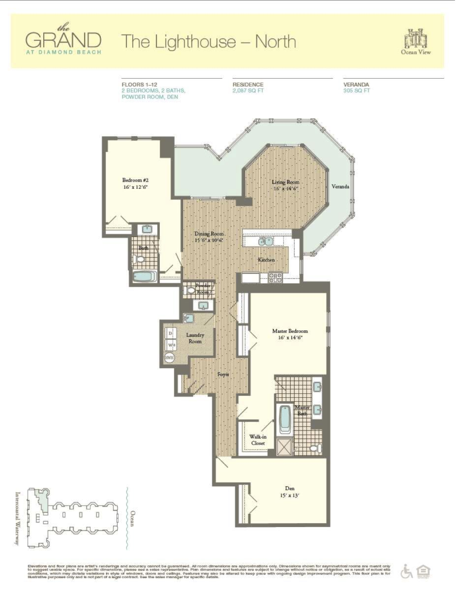 Floor Plan for Residence 402