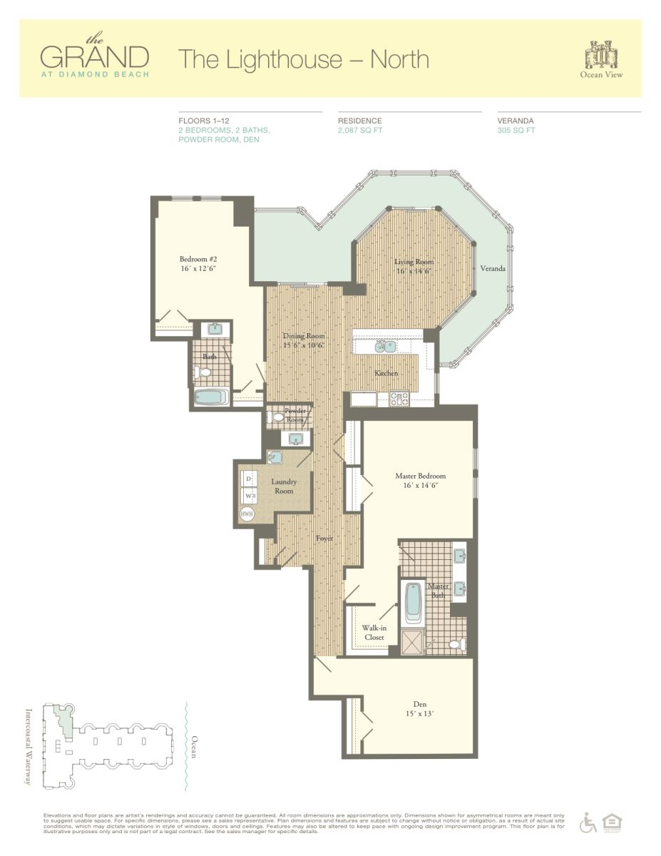 Floor Plan for Residence 802