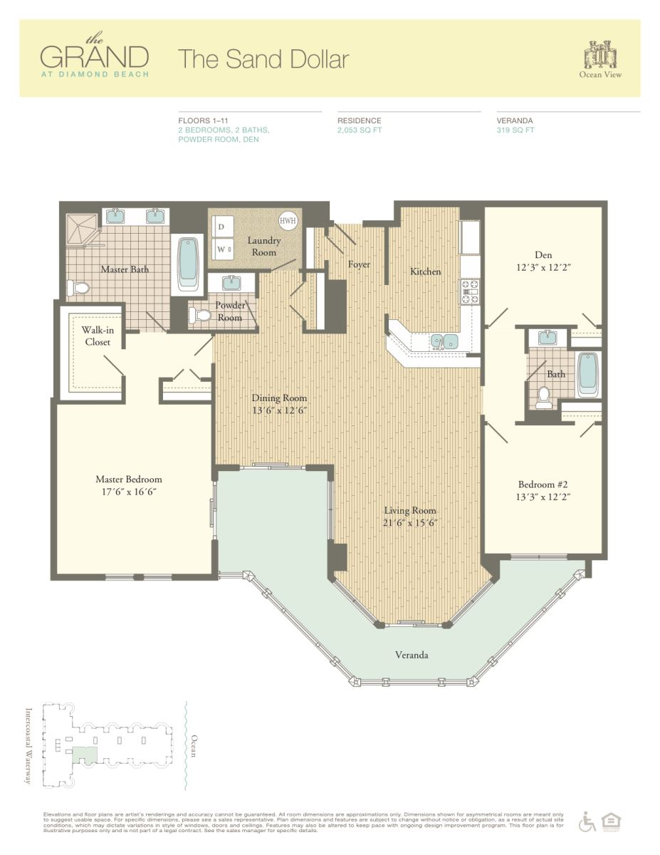 Floor Plan for Residence 1108