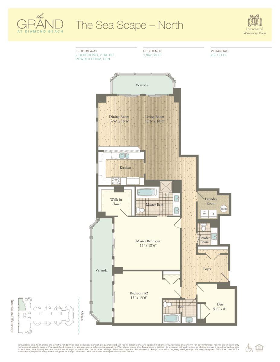 Floor Plan for Residence 901