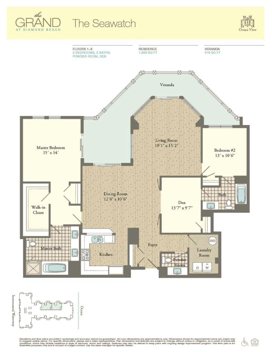 Floor Plan for Residence 411