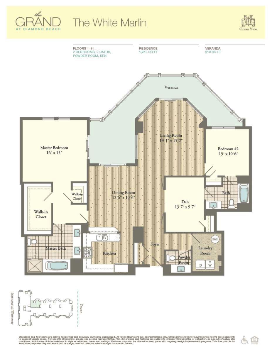 Floor Plan for Residence 707